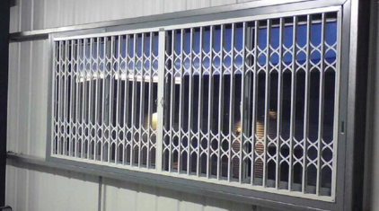 sliding security grilles